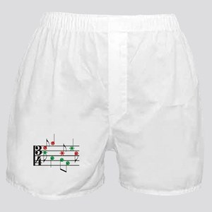 Christmas Music Boxer Shorts