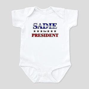 SADIE for president Infant Bodysuit