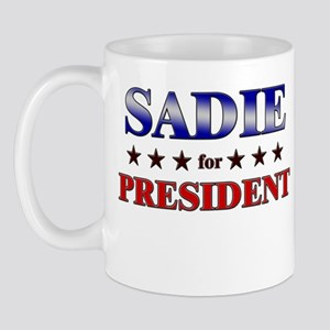 SADIE for president Mug