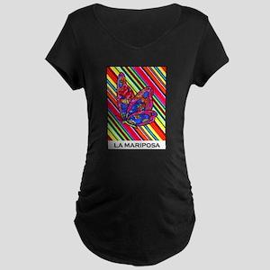 La Mariposa Maternity Dark T-Shirt