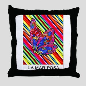 La Mariposa Throw Pillow