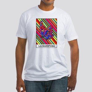 La Mariposa Fitted T-Shirt