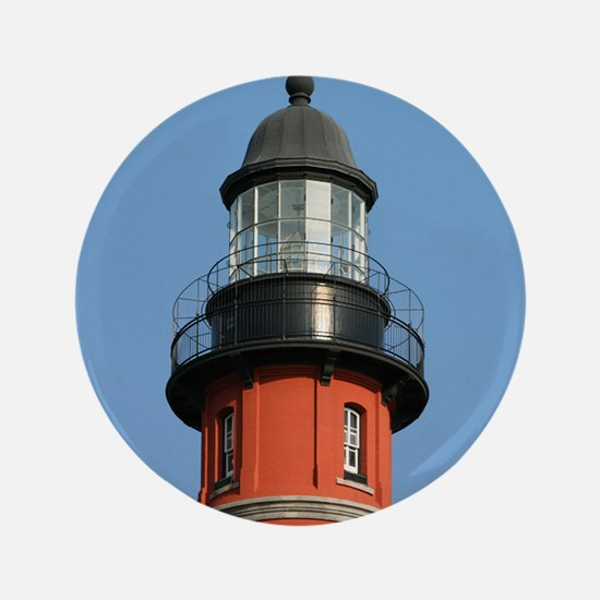 "Cute Ponce lighthouse 3.5"" Button"