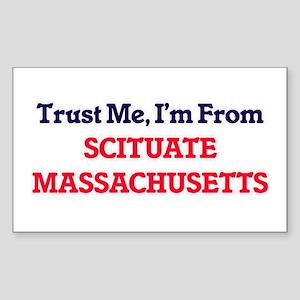 Trust Me, I'm from Scituate Massachusetts Sticker