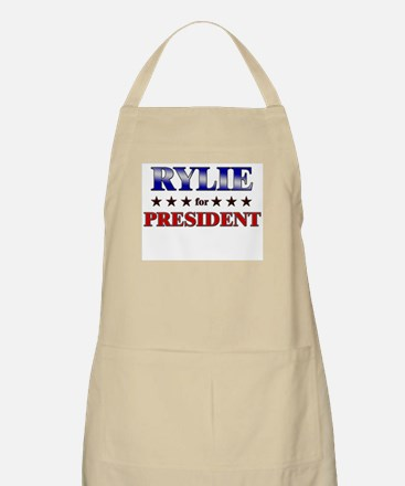 RYLIE for president BBQ Apron