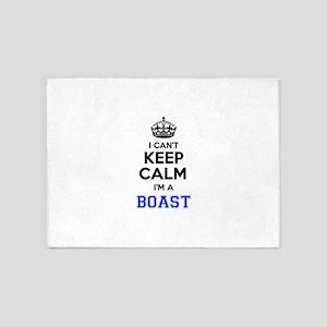 I can't keep calm Im BOAST 5'x7'Area Rug