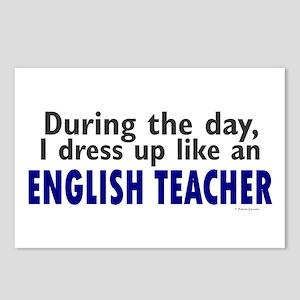 Dress Up Like An English Teacher Postcards (Packag