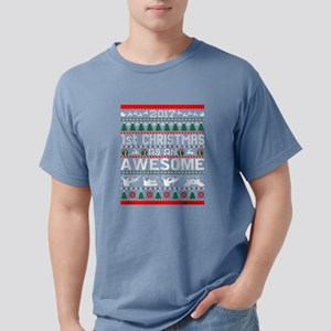 2017 First Christmas Awesome Pepa Ugly Swe T-Shirt