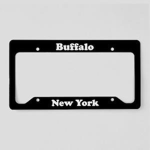 Buffalo NY License Plate Holder