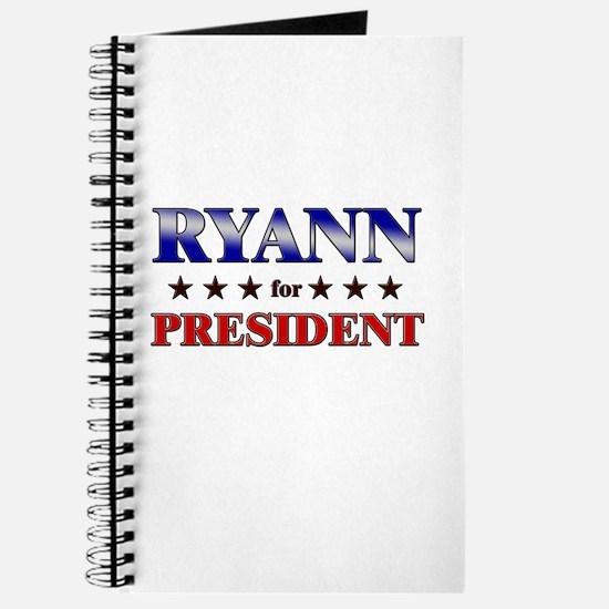 RYANN for president Journal