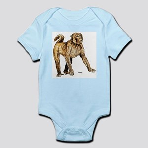 Macaque Monkey Infant Creeper