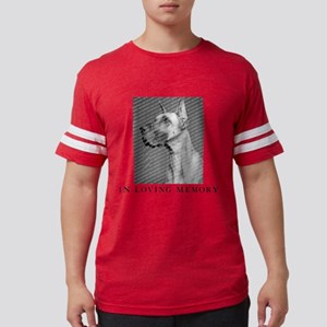 In Loving Memory Personalized Mens Football Shirt