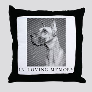 In Loving Memory Personalized Throw Pillow