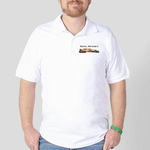 Greyhound Retired Golf Shirt