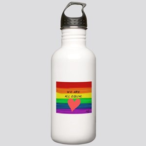 We are all equal heart Stainless Water Bottle 1.0L
