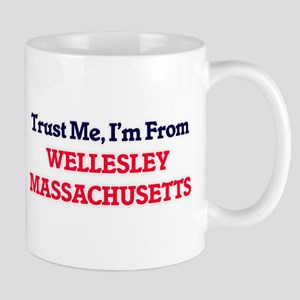Trust Me, I'm from Wellesley Massachusetts Mugs