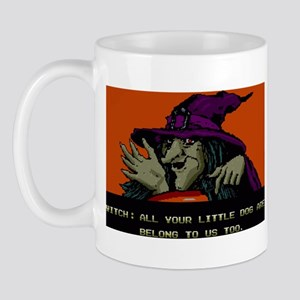 ALL YOUR LITTLE DOG Mug