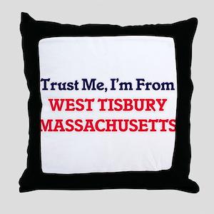 Trust Me, I'm from West Tisbury Massa Throw Pillow
