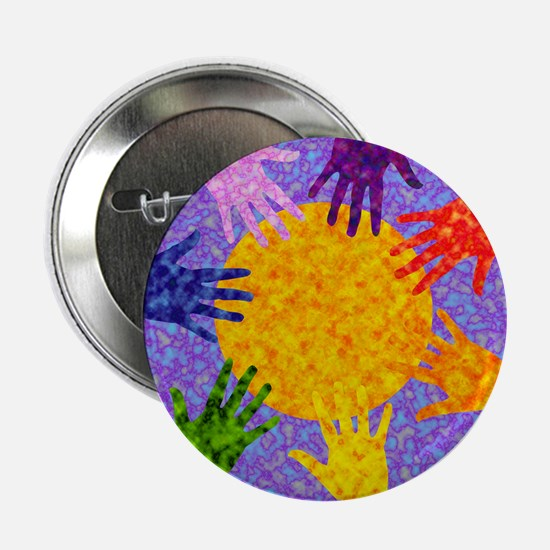 Rainbow Hands Button