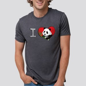 I heart pandas Women's Dark T-Shirt