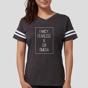 Chi Omega Fancy Womens Football Shirt