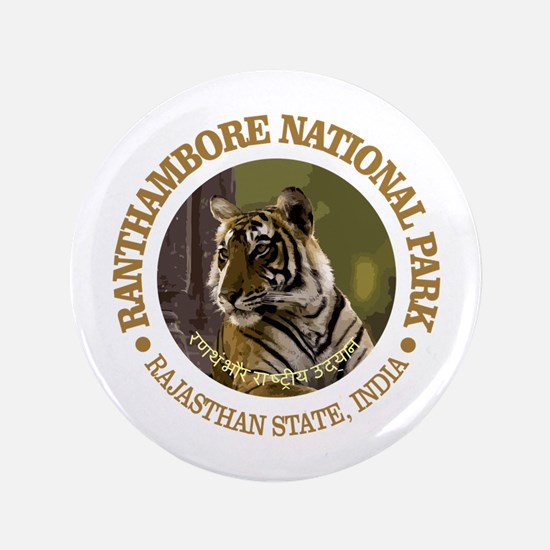 "Ranthambore NP 3.5"" Button"