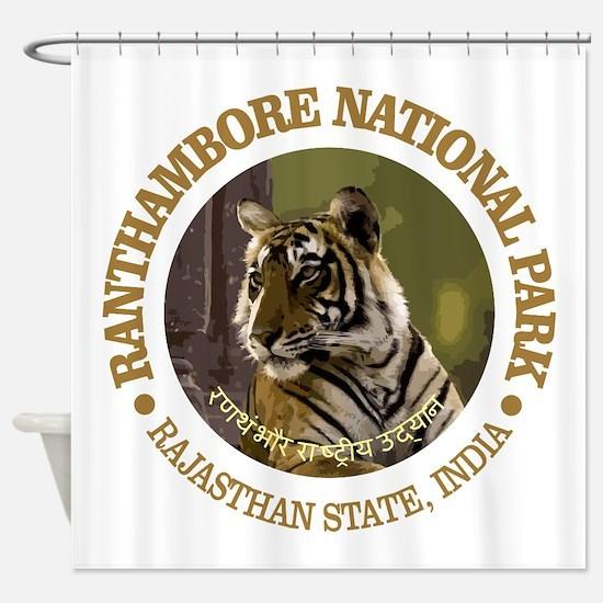 Ranthambore NP Shower Curtain