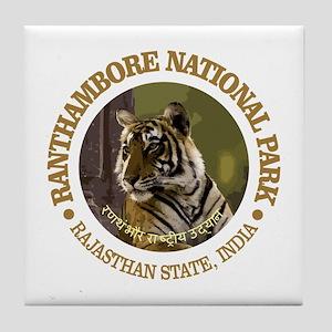 Ranthambore NP Tile Coaster