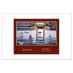 <b>Wat Pho Gateways</b><br>Large Poster
