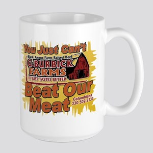 You Just Can't Beat Our Meat 2 Mugs