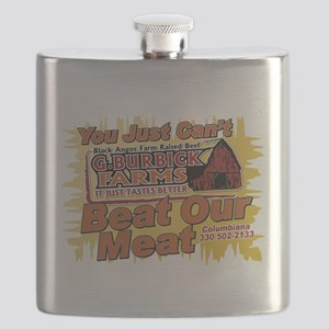 You Just Can't Beat Our Meat 2 Flask