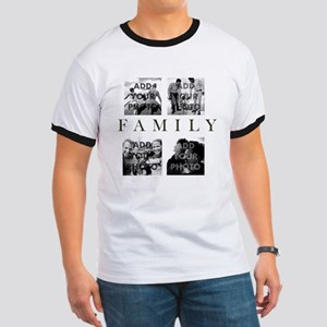 Family Personalized Ringer T