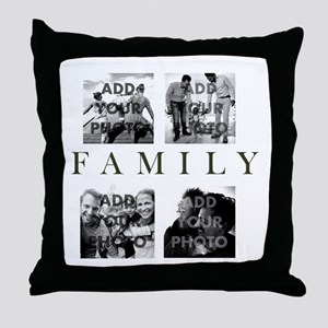 Family Personalized Throw Pillow