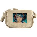CyberBlue Messenger Bag