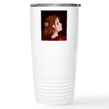 Looking Back - Red Travel Mug