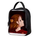 Looking Back - Red Neoprene Lunch Bag