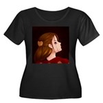 Looking Back - Red Plus Size T-Shirt