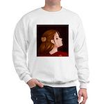 Looking Back - Red Sweatshirt
