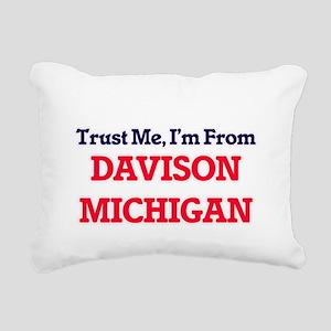 Trust Me, I'm from Davis Rectangular Canvas Pillow