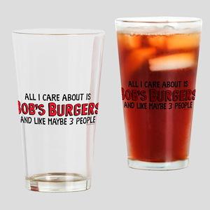 Bob's Burgers Care Drinking Glass