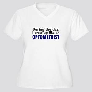Dress Up Like An Optometrist Women's Plus Size V-N