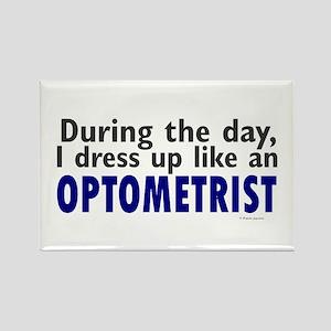 Dress Up Like An Optometrist Rectangle Magnet