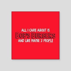 Bob's Burgers Care Sticker