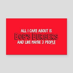 Bob's Burgers Care Rectangle Car Magnet