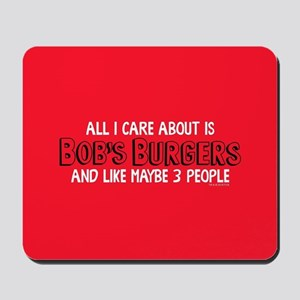 Bob's Burgers Care Mousepad