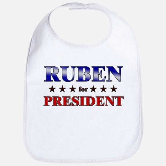 RUBEN for president Bib