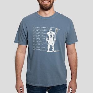 Lacrosse WC Quote Women's Dark T-Shirt