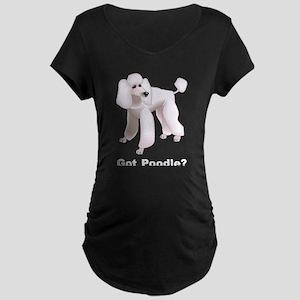 Got Poodle Maternity Dark T-Shirt