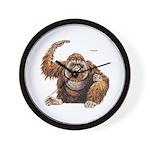Orangutan Ape Wall Clock