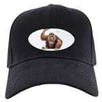 Orangutan Ape Black Cap